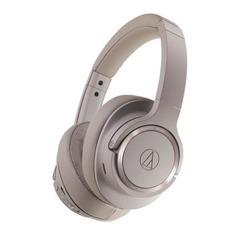 Наушники AUDIO-TECHNICA ATH-SR50BTBW, 3.5 мм/Bluetooth, накладные, белый [80000231]