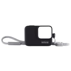 Аксессуар для экшн камер GoPro Sleeve + Lanyard HERO8 черный (AJSST-001)