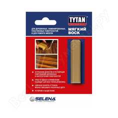 Мягкий воск для дерева и мебели tytan professional 62 махагон 64509