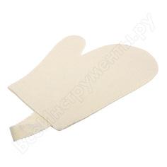 Рукавица для сауны банные штучки , войлок 100% 41001