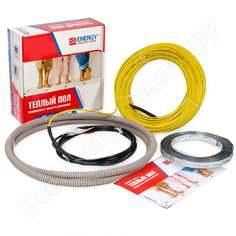 Теплый пол energy кабель 1500 вт к/т без термостата 00-ут-00621