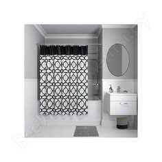 Штора для ванной комнаты iddis, 200*180см, полиэстер, b11p218i11