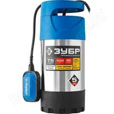 Погружной дренажный насос для чистой воды зубр профессионал нпч-т5-1000-с