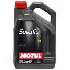 Синтетическое масло specific ll-04 bmw 5w40 5л motul 101274