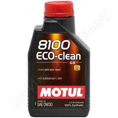 Синтетическое масло 8100 eco-lite 5w30 1л motul 108212