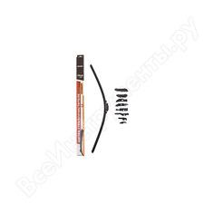 Бескаркасная щетка стеклоочистителя skyway стандарт 9 адаптеров s02701070