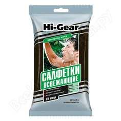 Влажные освежающие салфетки hi-gear hg5583