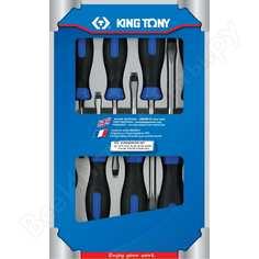 Набор отверток в коробке 8шт king tony 30118mr