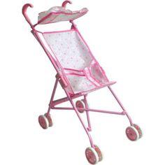 Коляска для кукол 1Toy розовая