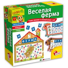 Обучающая настольная игра Lisciani Carotina preschool Веселая ферма