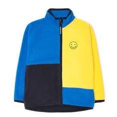 Кофта Crockid, цвет: желтый/синий