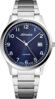 Швейцарские мужские часы в коллекции Pairs Мужские часы Adriatica A1292.5125Q Adri...Atica