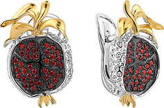 Серебряные серьги Серьги Серебро России S-3594RZ278-77265