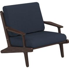 Кресло 805 х 860 х 935 термоясень темно-синий - SG.12.04.166 Yachtline