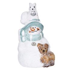 Фигурка Kaemingk Снеговик 12 см