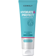 Пенка для умывания Consly Hydrate&Protect Hyaluronic Acid Cleansing Foam 120мл