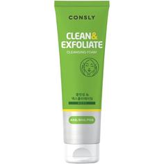 Пенка для умывания Consly AHA - BHA - PHA Cleansing Foam Clean&Exfoliate 120 мл