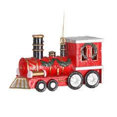 Игрушка елочная Kaemingk Поезд