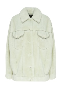 Серая куртка из норки Yana Dress