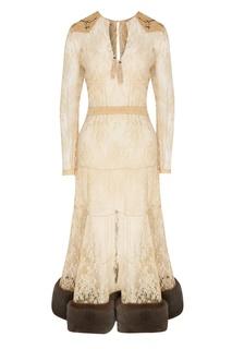Молочное платье из кружева Yana Dress
