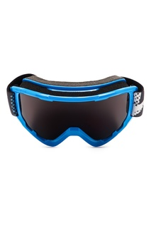Сноубордическая маска в голубой оправе Sherpa Quiksilver
