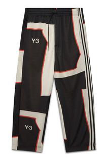 Черные брюки с принтами Y-3