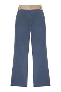 Синие вельветовые брюки Igor Gulyaev