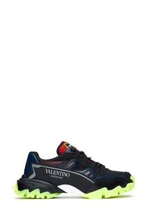Комбинированные кроссовки Valentino