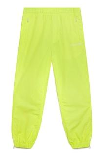 Желтые брюки с эластичным поясом Calvin Klein