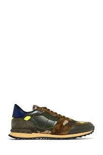 Кроссовки с контрастной отделкой Valentino