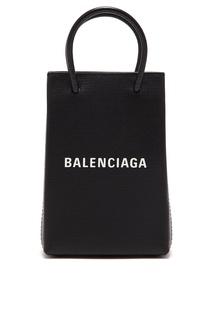 Сумка-пакет мини-формата Shopping Phone Holder Balenciaga