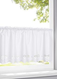 Короткие шторы Кухонная занавеска с перфорацией Bonprix
