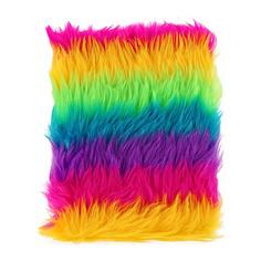 Блокнот FUN RAINBOW FUR bright 10x17 см