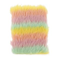 Блокнот FUN RAINBOW FUR pastel 10x17 см