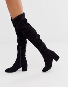 Черные сапоги Miss KG-Черный