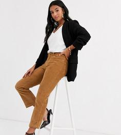 Светло-коричневые прямые брюки Vero Moda Petite-Светло-коричневый