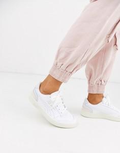 Перфорированные кожаные кроссовки пастельного цвета Puma Ralph Sampson-Белый