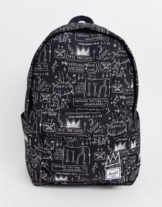Черный рюкзак Herschel Supply Co x Basquiat Classic XL 30 л