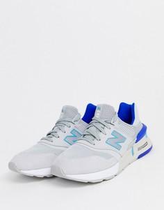 Серые кроссовки в стиле 997-х New Balance-Серый