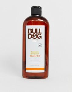 Гель для душа 500 мл с лимоном и бергамотом Bulldog-Бесцветный