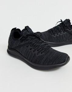 Черные кроссовки Puma Ignite Flash Evoknit-Черный