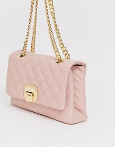 Стеганая сумка на плечо Aldo-Розовый