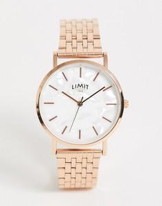 Золотистые наручные часы Limit-Золотой