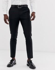 Узкие брюки под смокинг French Connection-Черный
