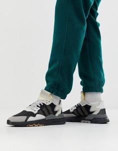Черные кроссовки adidas Originals Nite BD7933-Черный