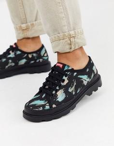 Черные туфли на шнуровке Camper Brutus-Черный