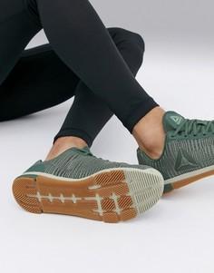 Зеленые кроссовки Reebok Training speed tr flexweave cn5501-Зеленый