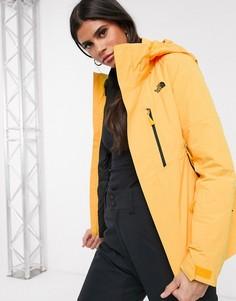 Желтая куртка The North Face Garnier Triclimate-Желтый