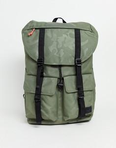 Зеленый рюкзак с камуфляжным принтом Herschel Supply Co Buckingham - 33 л