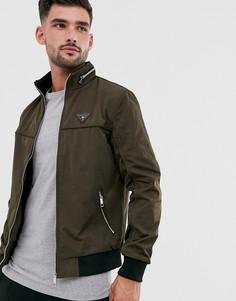 Куртка цвета хаки River Island-Зеленый